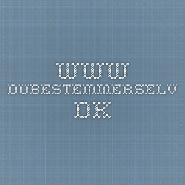 www.dubestemmerselv.dk