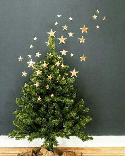 Espalhando estrelas @christmas.decoratin.pl