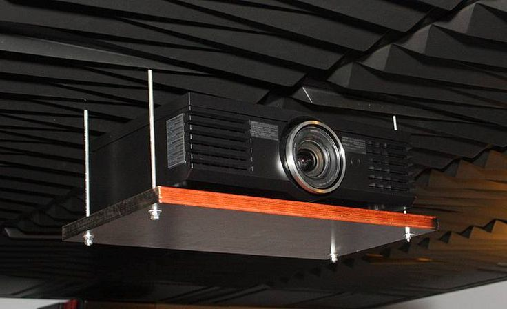 Eric S Diy Audio Projects Projector Mount Projector