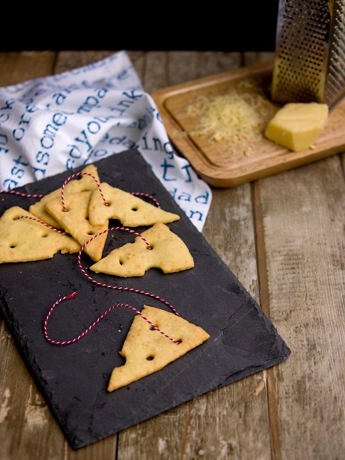 Pradobroty: Sýrové krekry
