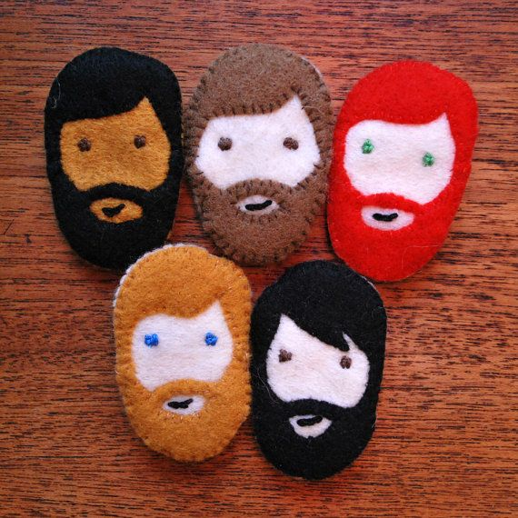 Some awesome brooches from Brooch Boyfriends. Mountain Man Boyfriend http://www.etsy.com/shop/broochboyfriends http://broochboyfriends.wordpress.com/