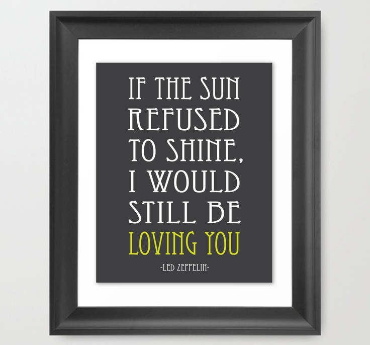 Led Zeppelin Lyrics  Thank You  Personalized by DesignStreetStudio, $4.95