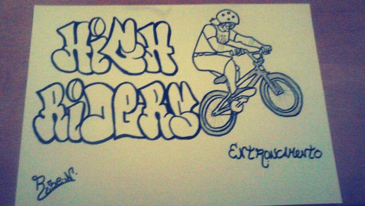 Feito para o meu pessoal do Entroncamento que adora BMX! #Rubenc