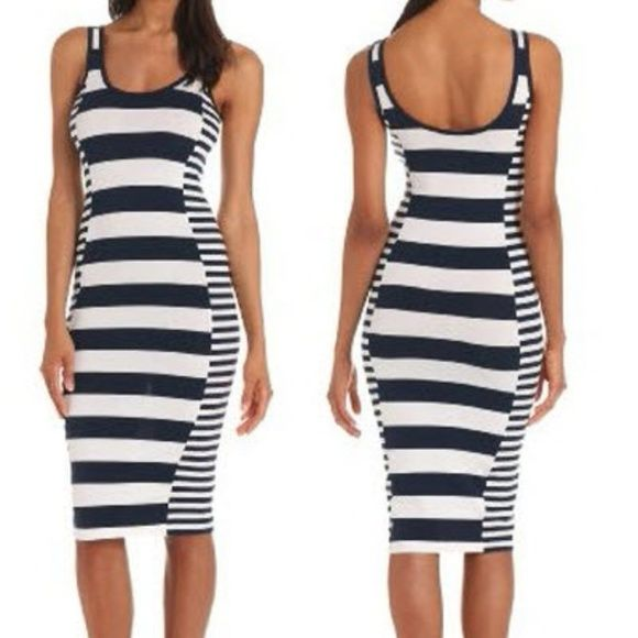 French connection nautical bodycon dress Super cute super chic bodycon dress. French Connection Dresses