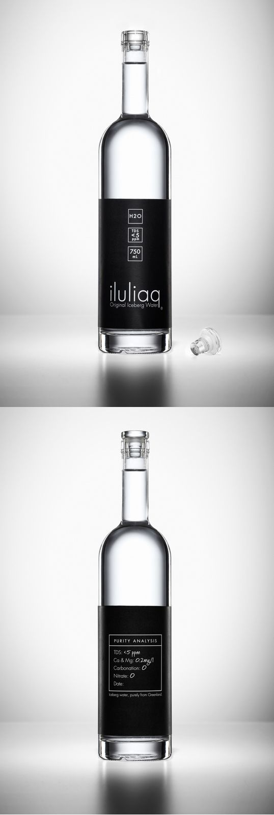 iluliaq Bottled water from Greenland.