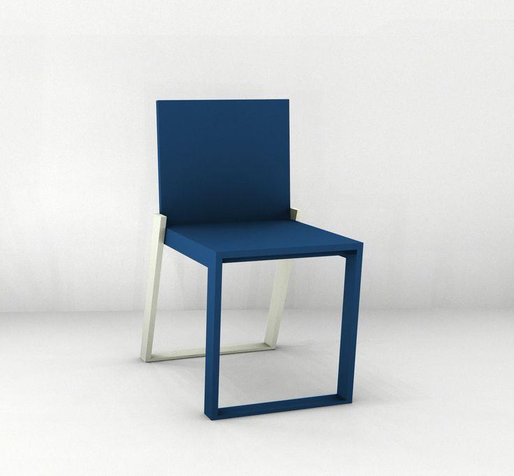 Basic 2.0 Chair, simple, elegant, Functional, Colorfull @Portfoliobox