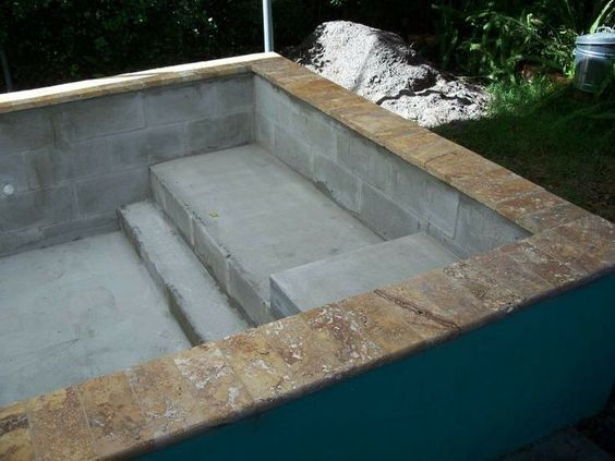 44 best piscine images on Pinterest Swimming pools, Houses with - Piscine A Construire Soi Meme