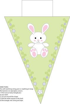 Bunny Banner - Party Decorations