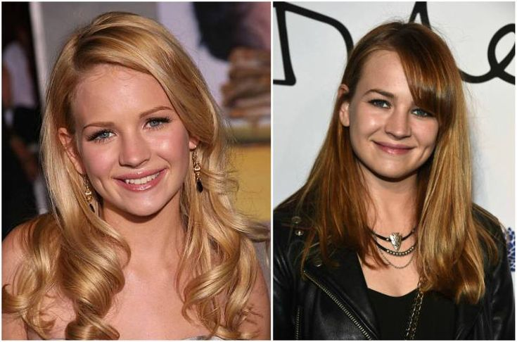 Britt Robertson's eyes color - blue and hair color - blonde