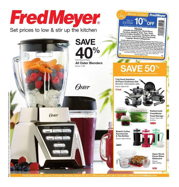 Attractive Fred Meyer Merchandise Ad August 20   26, 2017   Http://www