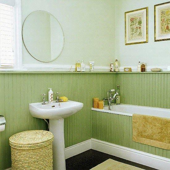 Покраска стен в ванной комнате: выбрать достойный вариант