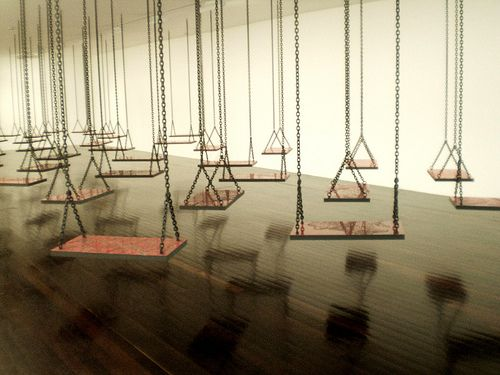 Mona Hatoum 'Suspendu' (Hanging) | Flickr - Photo Sharing!