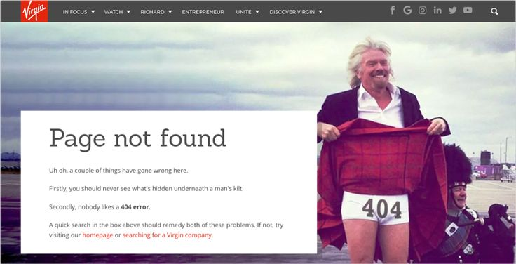 404 pages from popular sites — Design Inspiration – Muzli -Design Inspiration