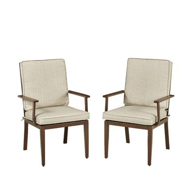 Home Styles Key West Dining Arm Chair with Cushion