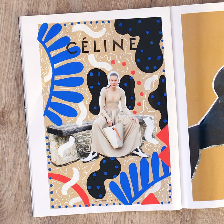Celine x Andreea Robescu by Andreea Robescu  https://mindsparklemag.com/design/celine-x-andreea-robescu/