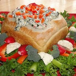 ... DIPS on Pinterest | Spinach dip recipes, Artichoke dip and Olive dip