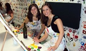 Groupon - $ 15 for a Two-Hour BYOB Painting Class at Dip 'n Dab ($30 Value) in Virginia Highland. Groupon deal price: $15