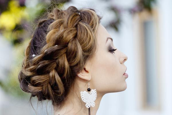 braid updo   #weddingideas #wedding #braidupdo