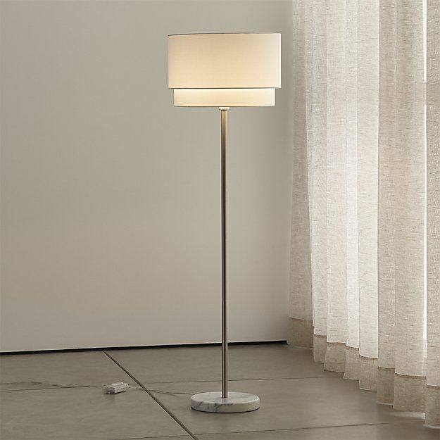 Meryl Vertical Floor Lamp   Crate And Barrel