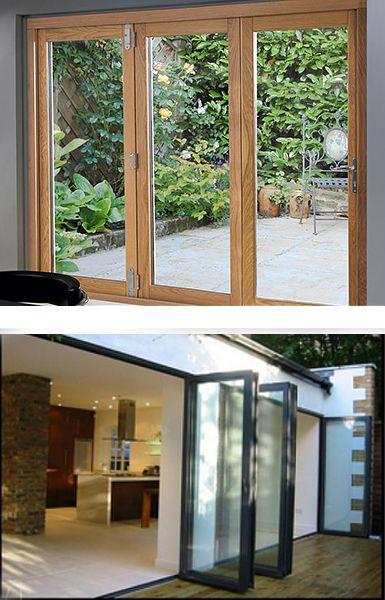 Timber & Aluminium bifold doors
