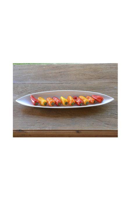 20288 - Barco em fibra de bambu para aperitivos. #bowlembambu #bowlfibradebambu #bowlparaservir #fibradebambu #bowl