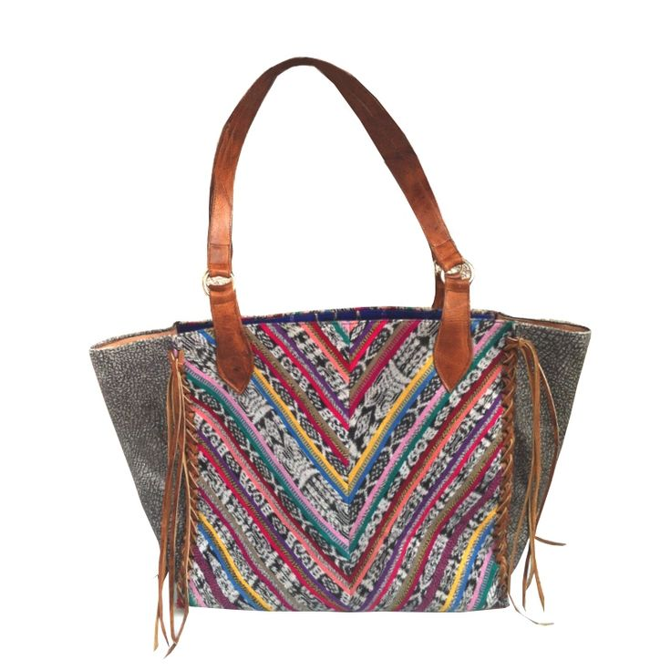 This one is my favorite -- today :)  Zig Zag Trenza Tote by Uxibal