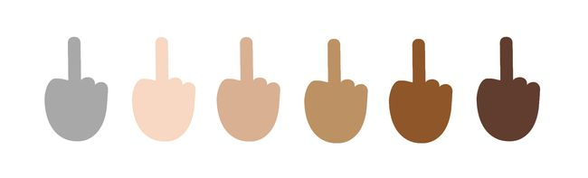 Windows 10 Makes Important Emoji Updates Including the Middle Finger and Neutral Gray Skin Tones