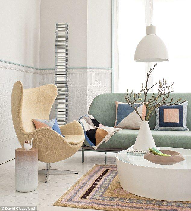 51 best paint the town pastel images on pinterest pastel colors pastel colours and home ideas - Pastel living room colors ...