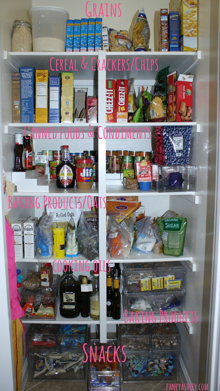 Pantry Organization - Tips and tricks by @Ashley Walters @ Fancy Ashley #organization #home