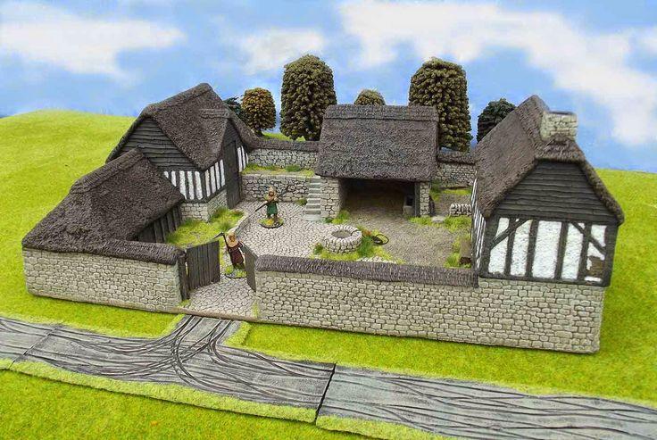 Rebel Barracks Medieval Fortified Farm Fortified Homes Cute766