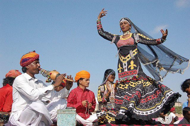 Viaggio in Rajasthan India : La danza