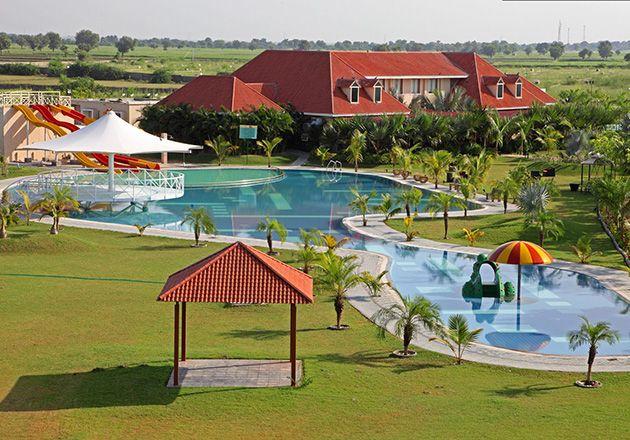 Get away this weekend to #100ACRESCLUBRESORT.  #club #resort #swimmingpool #snooker #food #movie #games #cityshorahmedabad