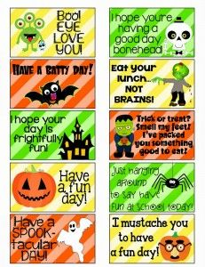 The only one I like is the sppok-tacular dayy one...it'll be the one I'll incorporate in the kids' lunches this halloween!