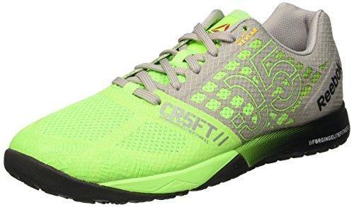 Oferta: 130€ Dto: -26%. Comprar Ofertas de Reebok R Crossfit Nano 5.0 Zapatillas de deporte, Verde / Gris / Negro (Solar Green/Tin Grey/Black/Shark), 45 barato. ¡Mira las ofertas!