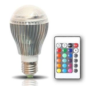 Brightchoice Kuler Bulb 10 Watt Color Changing Led Light