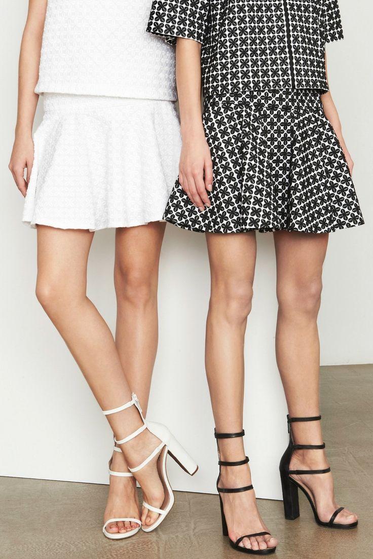 White // black