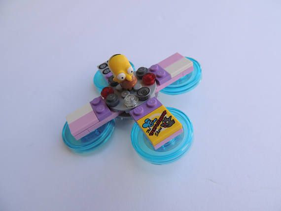 Homer Simpson The Simpsons LEGO Fidget Spinner