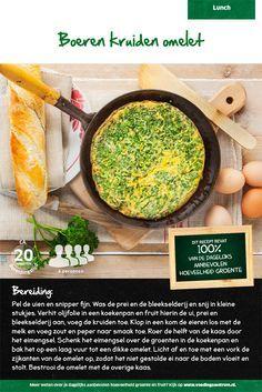 Recept voor boeren kruiden omelet #Lidl