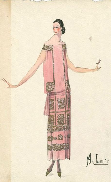 287 best Flapper & Ladies of the1920s. Art images on Pinterest | Art ...