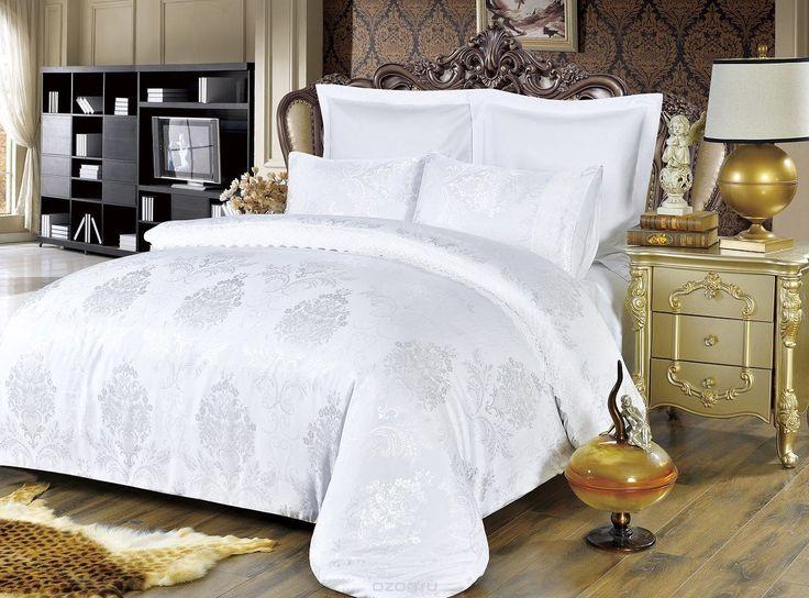 Комплект белья Modalin, 2-спальный, наволочки 50х70, 70x70. 50645064Комплект постельного белья Modalin, выполненный из сатина (100% хлопка), создан для комфорта и роскоши. Комплект состоит из пододеяльника, простыни и 4 наволочек. Постельное белье оформлено оригинальным орнаментом и кружевом. Пододеяльник застегивается на молнию, что позволяет одеялу не выпадать из него. Сатин - хлопчатобумажная ткань полотняного переплетения, одна из самых красивых, прочных и приятных телу тканей…
