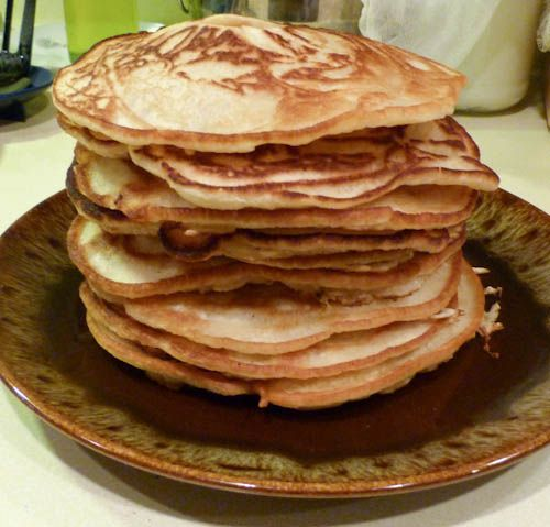 Buttermilk pancakes - Russian oladyi