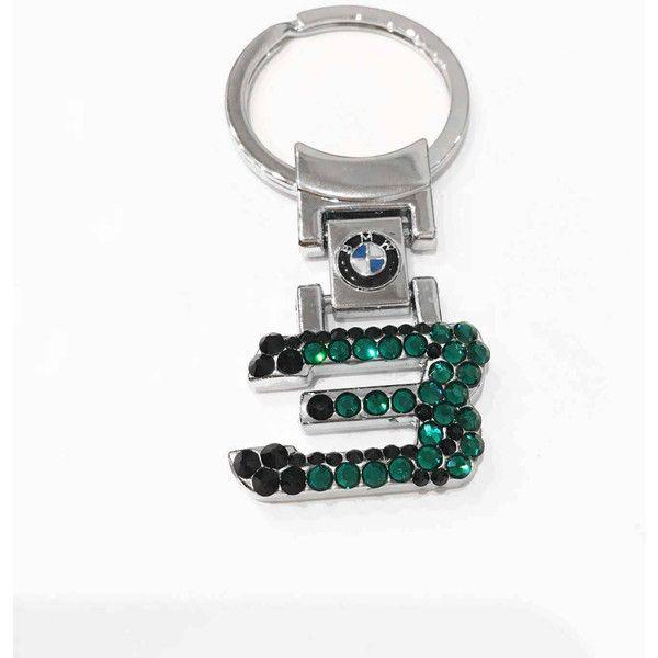 Swarovski custom Bmw Keychain BLING Bmw Keychain with crystals Bmw... ($26) ❤ liked on Polyvore featuring accessories, keychain key ring, bmw key chain, crystal key chain, key chain rings and bmw