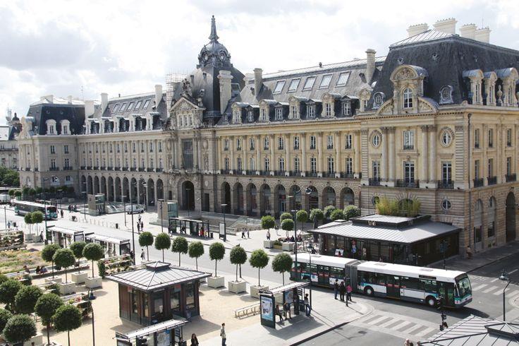 Place de la République. Rennes. Bretagne