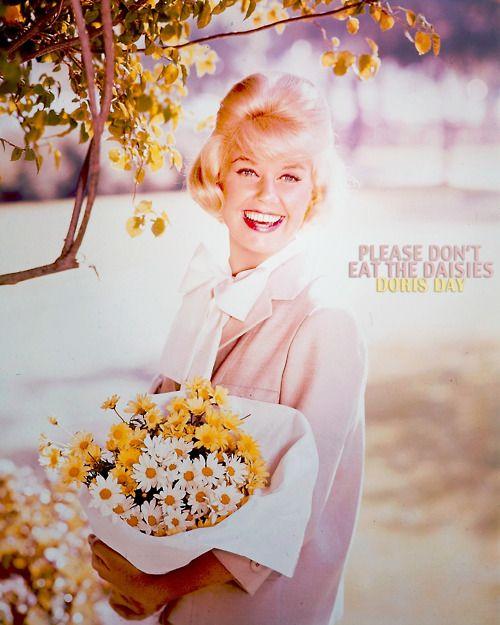 Cartel promocional de Don´t eat the daisies, 1960.