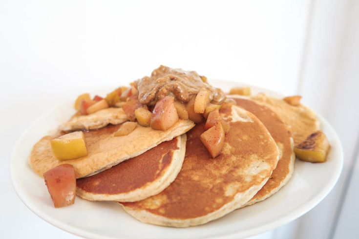 Pancakes is not only for children to enjoy. There are so many options of how to do them and what to top them up with. No limits!