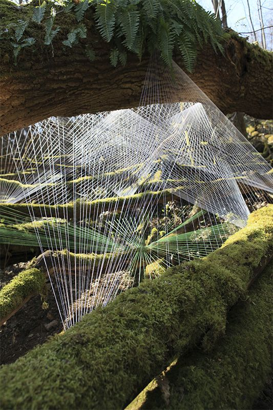 Beautiful string installations by [Hu]