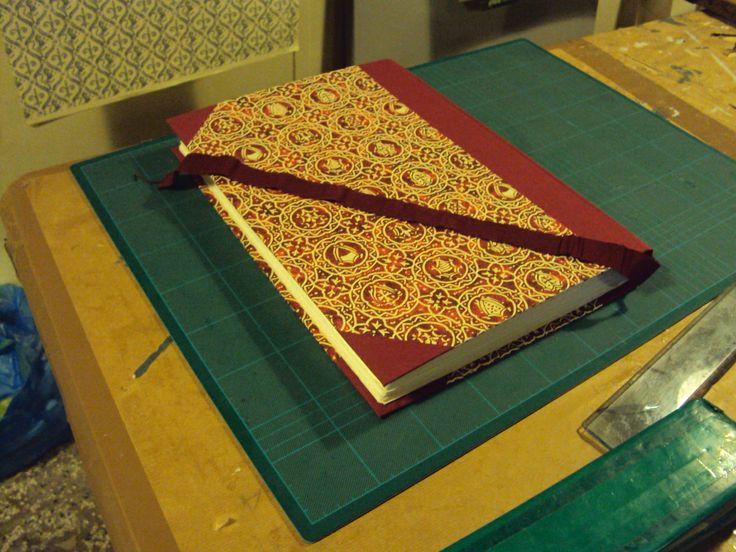 Handmade Guestbook, 25x35cm, 64 pages handmade cotton paper @Fabricharte