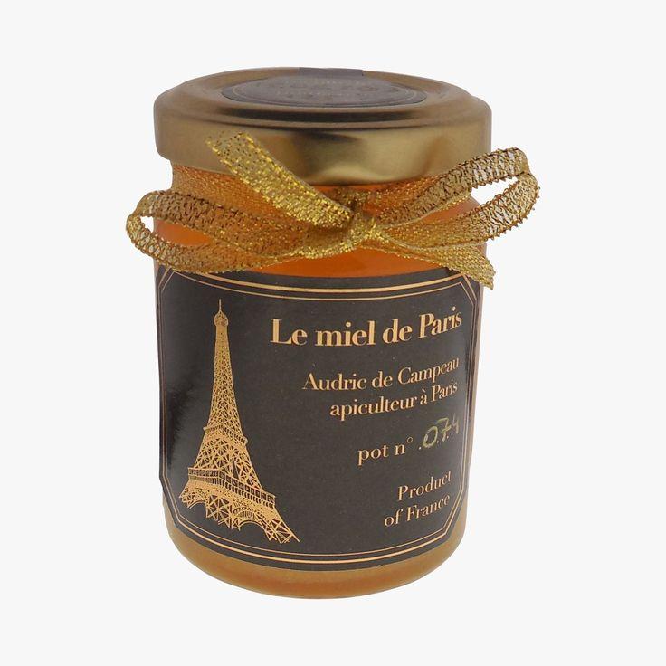 Miel de Paris - Audric de Campeau - Find this product on Bon Marché website - La Grande Epicerie de Paris - graphisme m-majuscule.com