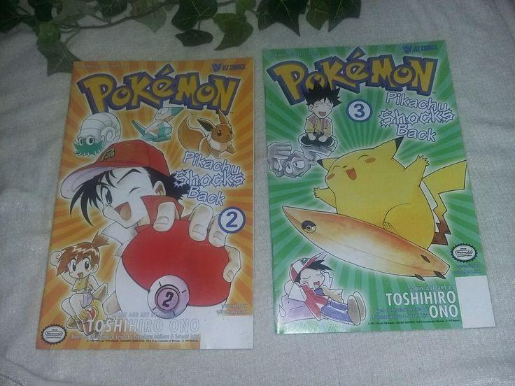 $9.96 or best offer Pokemon Comic Books Pikachu Shocks Back # 2 3 Viz