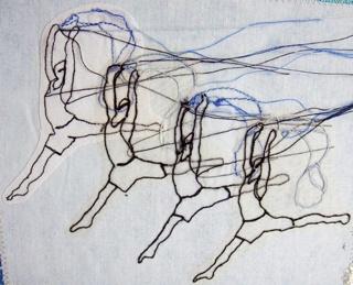 Rosie James - Stitch drawings